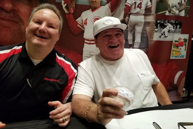 Kevin Fream Pete Rose