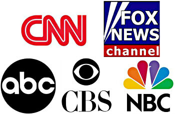 TV News Network Logos